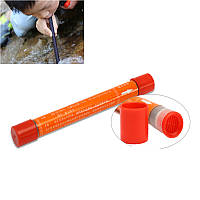 Portable 70L Straw Water Purifier Camping Hiking Outdoor Survival Emergency Supplies
