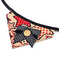 Yani KG-2 Собака Bow Tie Bandana Собака Шарф для щенков для домашних животных