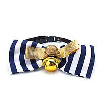 Yani KG-4 Регулируемый Собака Bowknot Gold Bell Собакаs Щенок для домашних животных