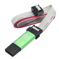 Бесплатный драйвер 51 AVR SCM ISP USBasp USBisp Программист-горелка с кабелем для загрузки и оболочкой 500 мА Предохранитель Стандартный интерфейс