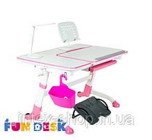 Стол парта-трансформер для девочки FunDesk Amare Pink, фото 2