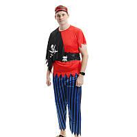 ХэллоуинПиратскийкостюмКосплейКостюмРолевая партия Для взрослых Одежда