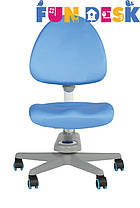 Комп'ютерне крісло FunDesk SST10 Blue, фото 3