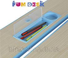 Растущая парта для дома FunDesk Lavoro L Blue, фото 3