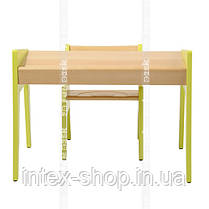 Детский стол и стульчик FUNDESK OMINO GREEN, фото 3
