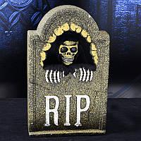 Хэллоуин Голосовой и сенсорный контроль Ужас Симуляция Электрический Череп Надгробный памятник для баров Призрачные дома Ужас Сцены Парт