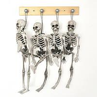 15 см Скелет Побег Призрачный дом Хэллоуин Череп Украшение Висячие пластиковые скелеты Хит-Хэллоуин Реквизит