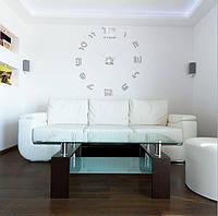 3D Fashion Простая гостиная DIY Настенные часы Креативные часы Домашние украшения