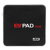 [1000CH IPTV] EVPAD PlusAllwinner H3 2GB DDR3 RAM 32GB ROM Android 6.0 2.4G 5.0G WiFi 1000M LAN Bluetooth 4K H.265 HEVC VP9 Android TV Коробка 1000 HD