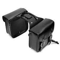 Мотоцикл Кожаная сумка из искусственной кожи Большая вместимость Мотор Велосипед боковой моторный бак Сумка Багаж