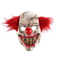 Страшный клоун Маска Полное лицо Латекс Ужас для Хэллоуина Злой Страшный маскарадный вечер