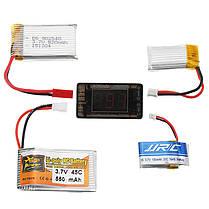 AOKoda AOK-041 1S Тестер литей батареи для проверки для JST MOLEX mCPX MCX подключенной батареи, фото 3