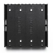 5 штук High Strength Батарея Пластик Чехол Держатель для литий-ионных батарей 4x3.7V 18650, фото 3