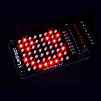 8x7 Красный LED Точечная матрица Дисплей Модуль Электронные строительные блоки для Arduino