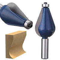 1/2 дюймов Шток-ротор с битовым карбидом Сплав с покрытием Blue Woodworking Инструмент