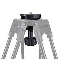 PULUZ PU3503 75-миллиметровый металлический полуламповый адаптер с плоским шарниром для головки флюида Штатив DSLR Rig камера