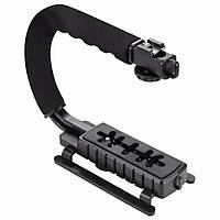 PULUZ PU3005 C-образная видеокамера DV Bracket Steadicam Stabilizer для DSLR DV камера