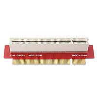 PT191 1U PCI PCI-карта для карт с интерфейсом PCI на 90 градусов для ПК Чехол