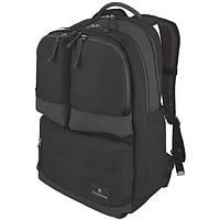 Рюкзак Laptop молодежный с 2 отделениями для ноутбука 17 ALTMONT 3.0 Black черный 31л 33x50