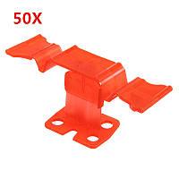 50Pcs Плитка для пола с плоским выравниванием Система Плитка Уровень Клип Spacer Lippage Инструмент