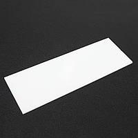30x10cm Белый пластиковый лист PVDF Board 5 мм Толщина Высокая прочность