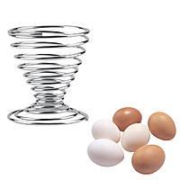 KCASA KC-EH035 Творческая нержавеющая сталь Весна Провод яйца Подставка для хранения подставки для хранения поддонов Кухня Набор