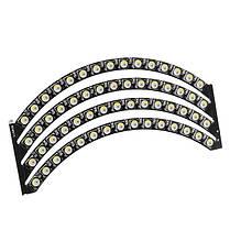 60x 5050 RGBW 4500K LED Плата с интегрированными драйверами Естественное белое кольцо Потребность Пайка-1TopShop, фото 2
