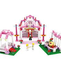 COGO Girl Series 13265 Royal Свадебное 355 шт. Комплект строительных блоков Кирпичи Игрушки Лучший подарок для девочек