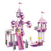 COGO Girl Series 13264 Castle Fun Park 362 шт.Комплект для строительных блоков Кирпичи Игрушки Лучший подарок для девочек