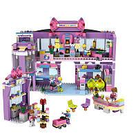 COGO Girl Series 14511 Shopping Mall 810 шт. Комплект строительных блоков Кирпичи Игрушки Лучший подарок для девочек