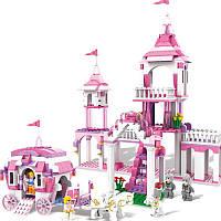 COGO Girl Series 13263 Cinderella Make-up 512 шт.Наборы строительных блоков Кирпичи Игрушки Подарки для девочек