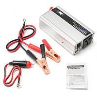 1000W DC 12V для AC 220V Портативный преобразователь зарядного устройства для инвертора
