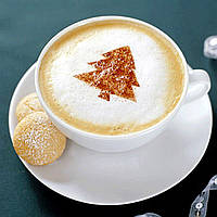 Honana HN-COFF05 8pc Набор для кофе-форм Cappuccino Latte Трафаретная пресс-форма для кофе Barbie Forms Strew Pad Duster Spray Набор