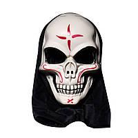 ХэллоуинЧерепВампирМаскаБарТанцевальный ужас Страшный скелет Душа Подземелья Демон Дьявола