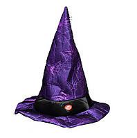 Электрические говорить и двигаться Ведьма Шапка Хэллоуин украшения Реквизит Необычные Платье Пасха Показать Шапка
