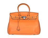 Сумка  35 HERMES 023, Цвет Оранжевый, Размер STANDART
