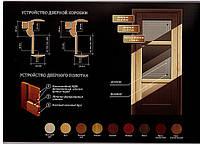 Двері шпоновані дубом Термінус, фото 1