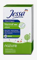 Jessa Normal nature Ежедневные прокладки (3 капли) 40 шт.