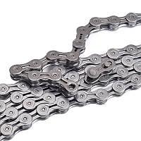 BIKIGHT 116 Ссылка 9 Скоростной велосипед Цепь Серебряное покрытие Полое с оригинальным Волшебный Пряжка Велосипедные детали