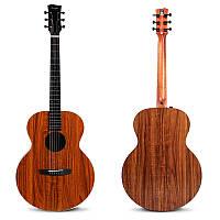 Enya EA-X1/EQ 41 дюймов KOA-Patterned HPL Wood Full Board Акустическая гитара