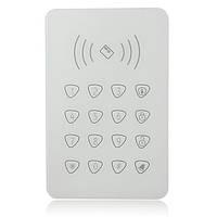 GS-K07 RFID Беспроводная клавиатура с клавиатурой 433 МГц для GSM Система охранной сигнализации для дома