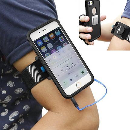 Универсальный магнитный На открытом воздухе Sport Running Cycling Light Arm Armand Arm Сумка для Xiaomi iPhone 1TopShop, фото 2