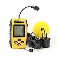 Бёбинг328ft/100mDepth2 дюймов LCD Рыбалка Finder Sonar Portable Водонепроницаемы Датчик Рыбалка Инструмент