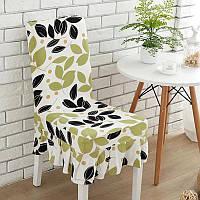 KCASA WX-PP5 Элегантный цветок Упругие Stretch Chair Обложка сиденья с юбкой Хем Столовая Главная Свадебное Декор