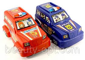 """Машинка """"Джип""""Полицейский"""" 15см 608А-1"""