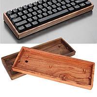 GH60 Solid Wooden Чехол Подгонянная рама для 60% Mini Механический Gaming Клавиатура