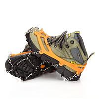 Snow Grip Spike Ice Shoes Ботинки Противоскользящие 8-зубовые скалолазные коляски захваты для лыжного снега