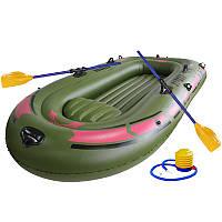 IPRee ™ 150X90CM 1Person Rubber Rubber Лодка Для речного потока Озеро Рыбалка Надувное Лодка