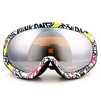 NICEFACENF120Сферическиеочки для сноуборда Маска Катание на лыжах мотоцикл Защитные лыжи Анти UV