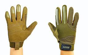 Перчатки тактические с закрытыми пальцами BLACKHAWK BC-4924-G (р-р M-XL, оливковый)